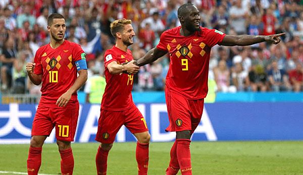Russland Belgien