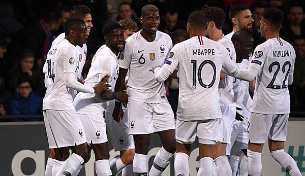Frankreich Gegen Island Live