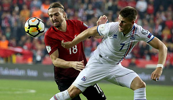 Island Gegen Türkei