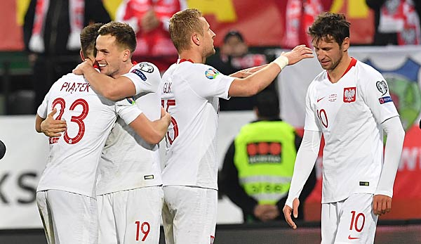 EM-Qualifikation: Nordmazedonien gegen Polen heute live ...