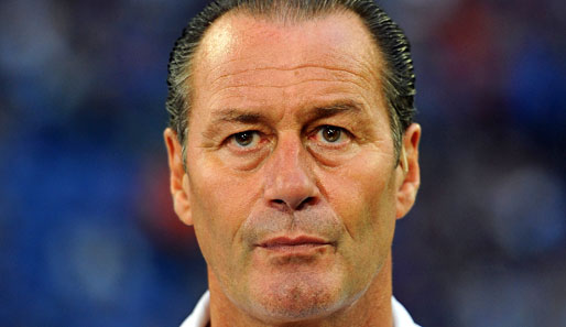 Schalke-Trainer Huub Stevens will das Image des Defensivfanatikers ablegen