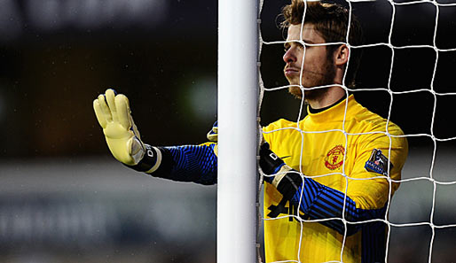 David de Gea empfängt mit Manchester United Athletic Bilbao
