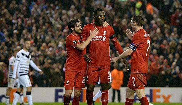 Liverpool marschiert - Celtic raus