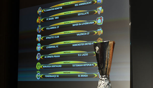 Achtelfinale Europa League