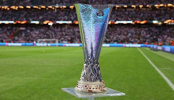 Der Europa-League-Pokal.