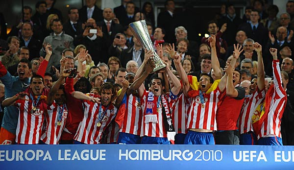 Atletico Madrid gewann 2010 die Europa League.