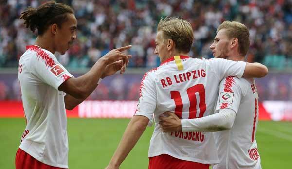 Rb Leipzig Gegen Rb Salzburg