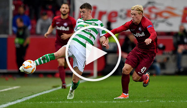 HIGHLIGHTS - Red Bull Salzburg gegen Celtic Glasgow: Tore ...