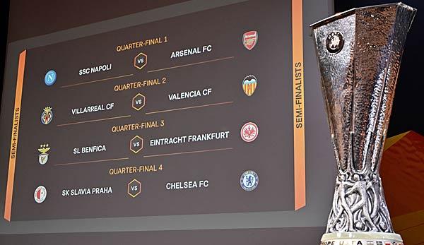 Europa League Hinspiele