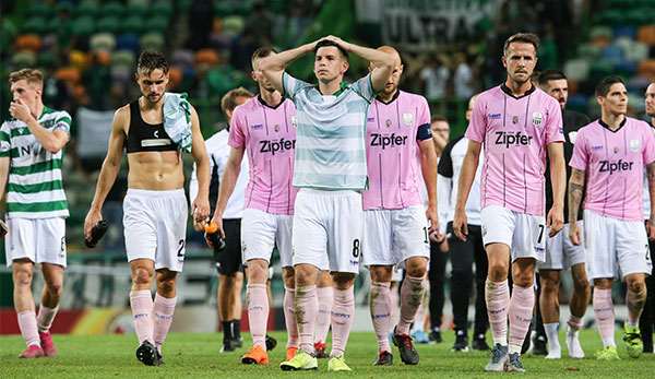 LASK is disappointed to lose against Sporting with a strong performance