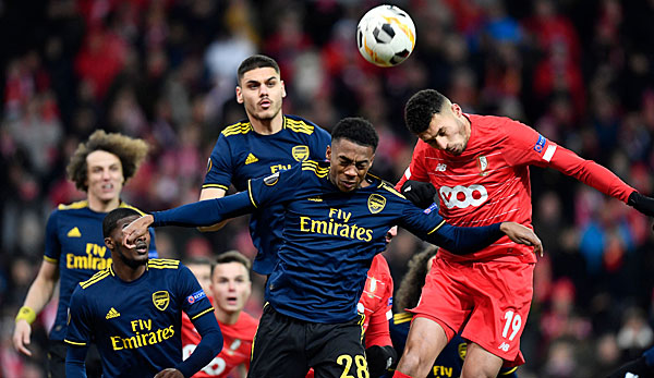 Europa League: FC Arsenal leistet mit Aufholjagd Schützenhilfe für Eintracht - LASK holt sich den Gruppensieg