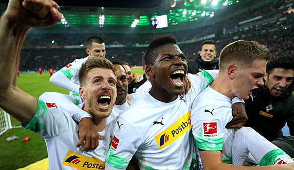Gladbach fights for the start of the round of the last 32.