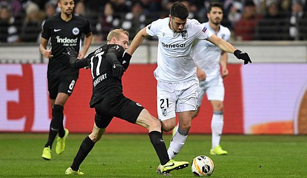 """Eintracht Frankfurts Sebastian Rode: """"Schiedsrichter hat zugegeben, war ein klares Foul"""""""