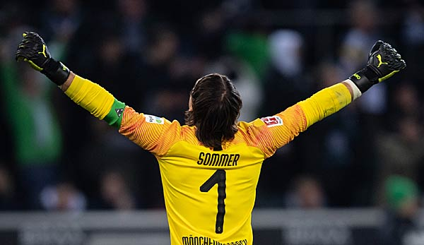 Yann Sommer wants to keep the route clean today.