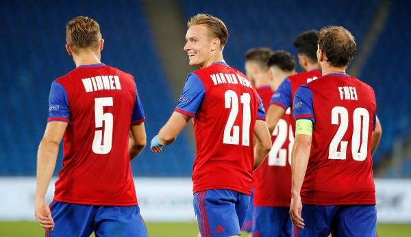 Les Baselers ont battu l'Eintracht Francfort en huitièmes de finale et doivent maintenant affronter Donetsk en Ligue Europa.