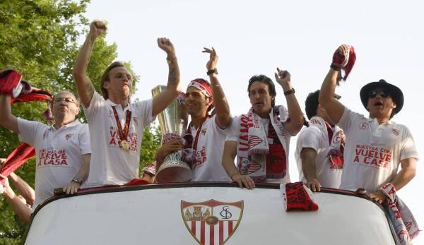 Mit Sevilla: Reguilón gewinnt Europa-League-Finale gegen Inter