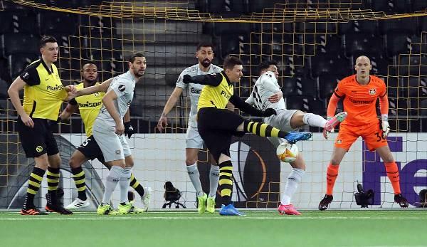 Bayer Leverkusen et Young Boys Bern se sont séparés 4: 3.
