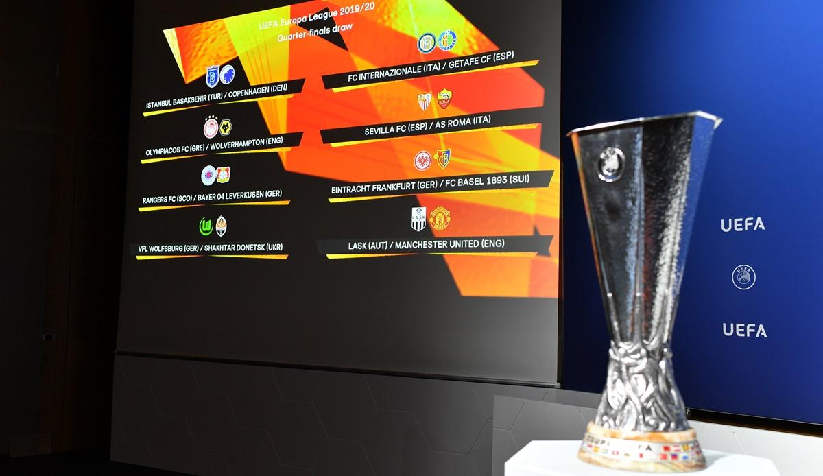 Europa League: Auslosung für das Achtelfinale heute live im TV und Livestream