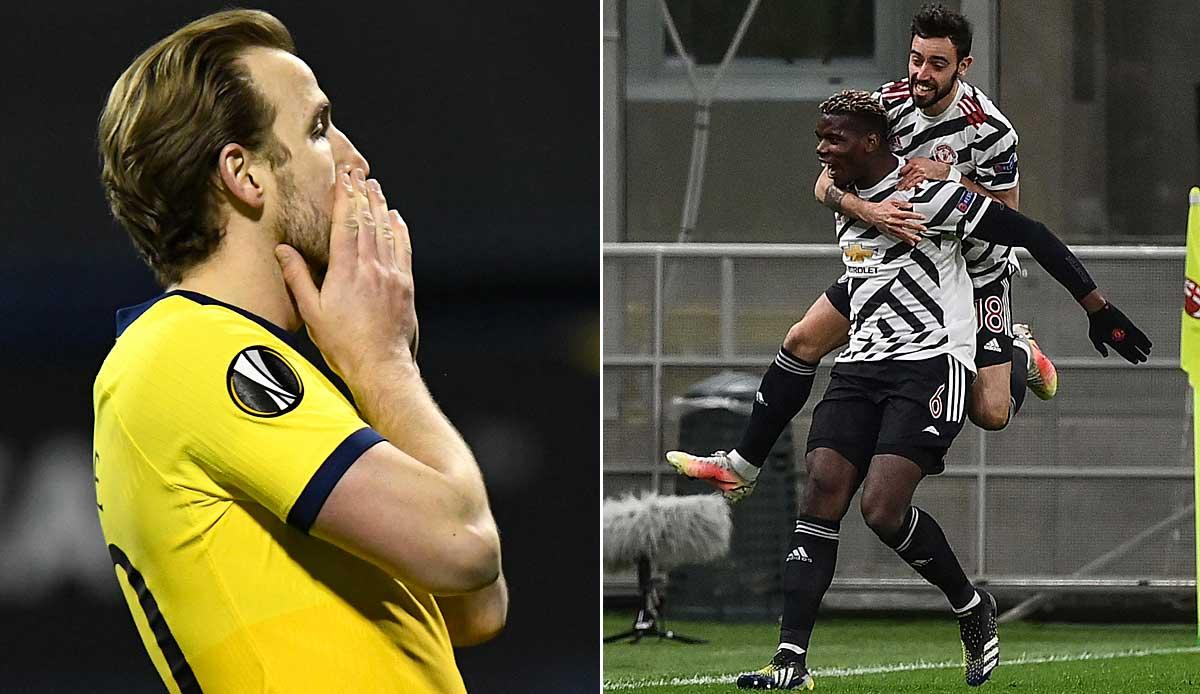 Europa League: Dank Pogbas Märchen-Comeback! ManUnited haut Milan raus - Tottenham blamiert sich in Zagreb