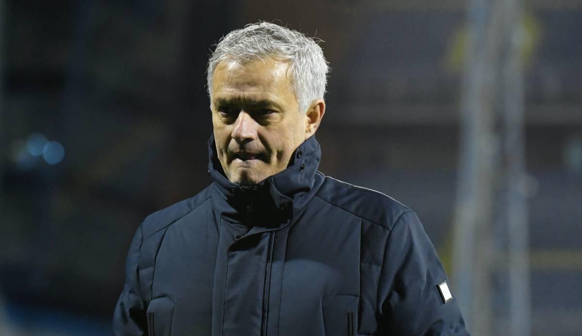 Europa League: Tottenham-Hotspurs-Coach Jose Mourinho rechnet nach Ausscheiden mit seiner Mannschaft ab