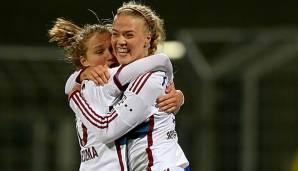 Frauen Fußball: Pokal: Bayern feiern Schützenfest, Potsdam bezwingt Frankfurt