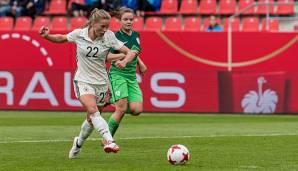 Frauen-Fußball: Knorpelschaden im Knie: Nationalspielerin Tabea Kemme fällt lange aus