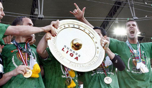 fußball, international, rapid wien