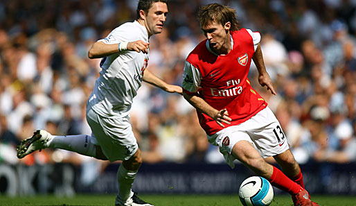 Fussball, International Arsenal London, Hleb