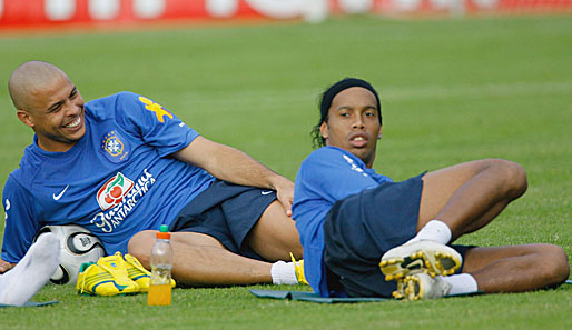 Fussball, International, Ronaldinho, Olympia