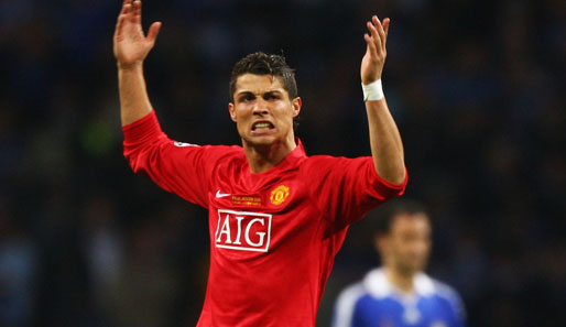 Ronaldo, Real Madrid, Manchester United