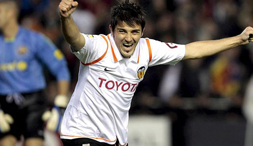 fußball, spanien, david villa, real madrid