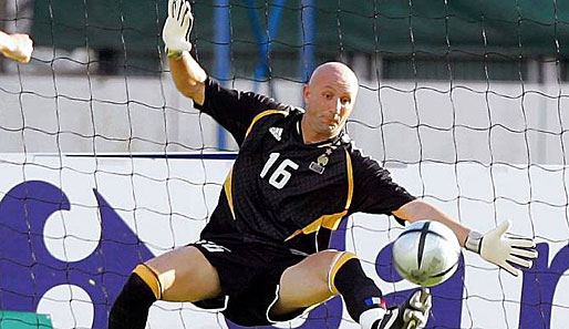 Fußball, international, barthez