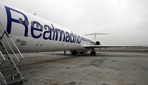 Real Madrid Flugzeug