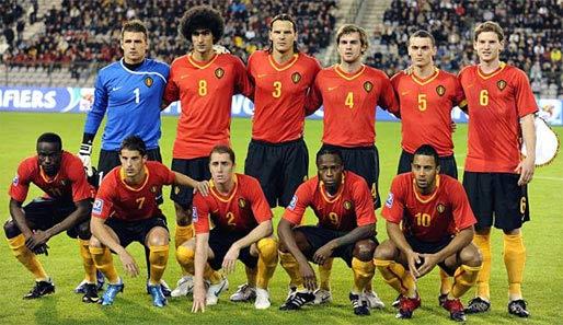 fussball ergebnisse belgien