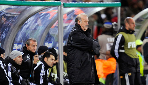 Vicente del Bosque hat den Job als Nationaltrainer 2008 von Luis Aragones übernommen
