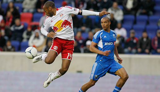 Thierry Henry spielt seit 2010 bei den New York Red Bulls in der MLS