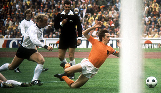 1974 Fußball wm Finale Szene Aus Dem Wm-finale 1974