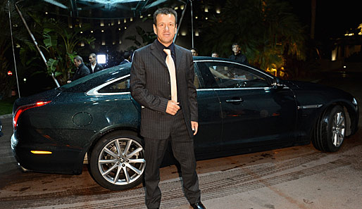 "Carlos Dunga bei der Verleihung der ""Golden Foot Awards"" in Monaco"