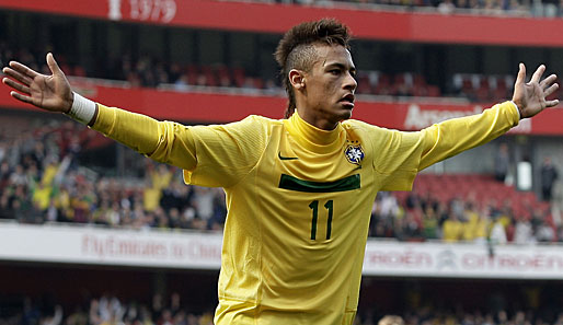 Neymar jr frisur wm 2014