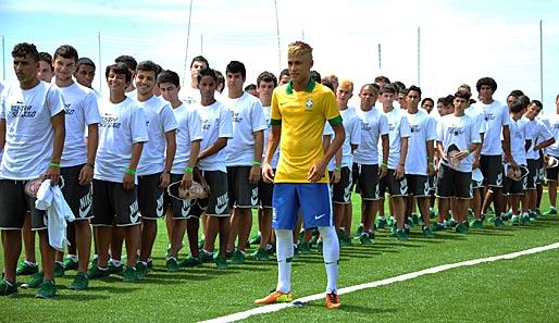 5407e21e04939 Neymar möchte den FC Santos im Sommer 2014 nicht ablösefrei verlassen