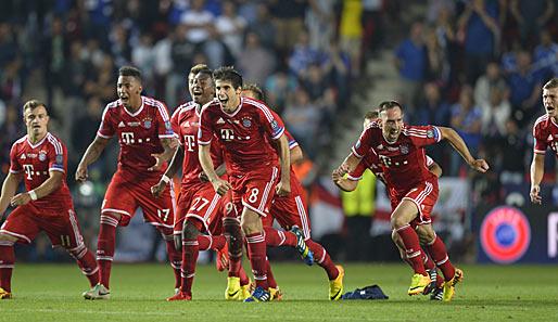 Lukaku verschießt, die Bayern jubeln: Der FCB gewinnt erstmals den europäischen Supercup