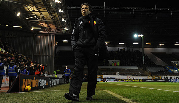 Gianfranco Zola ist seit 2012 Trainer in Watford