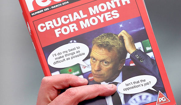 "Gemein! Das United-Fanzine ""Red Issue"" verspottet den Boss"