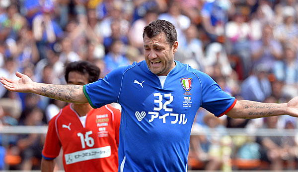 Christian Vieri will seine Karriere in China fortsetzen