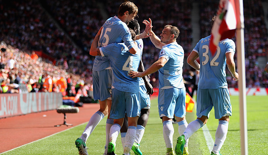 Platz 18: Stoke City (Premier League) - 105.49 Millionen Euro