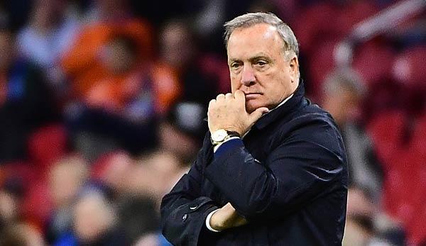Advocaat kündigt Rücktritt als Oranje-Trainer an