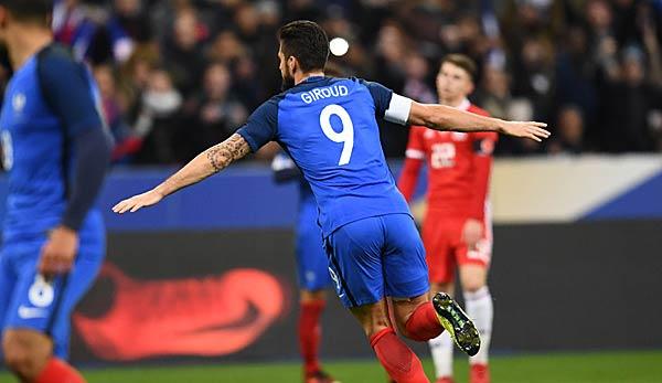 Frankreich Gegen Wales