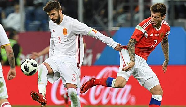 Russland Spanien