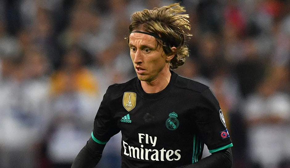 Platz 3: Luka Modric - Real Madrid