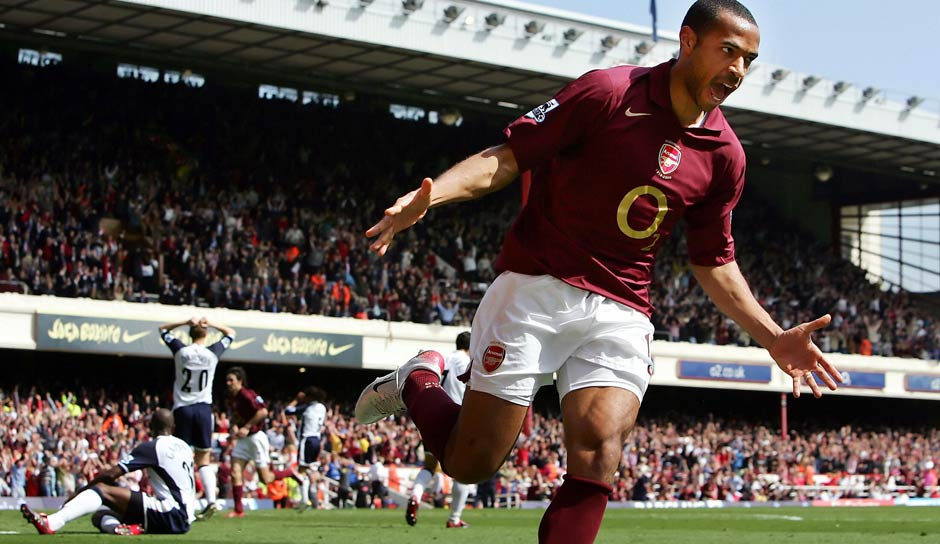 FC Arsenal: Thierry Henry, 228 Tore